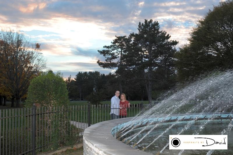 Stanley Park wedding engagement photo