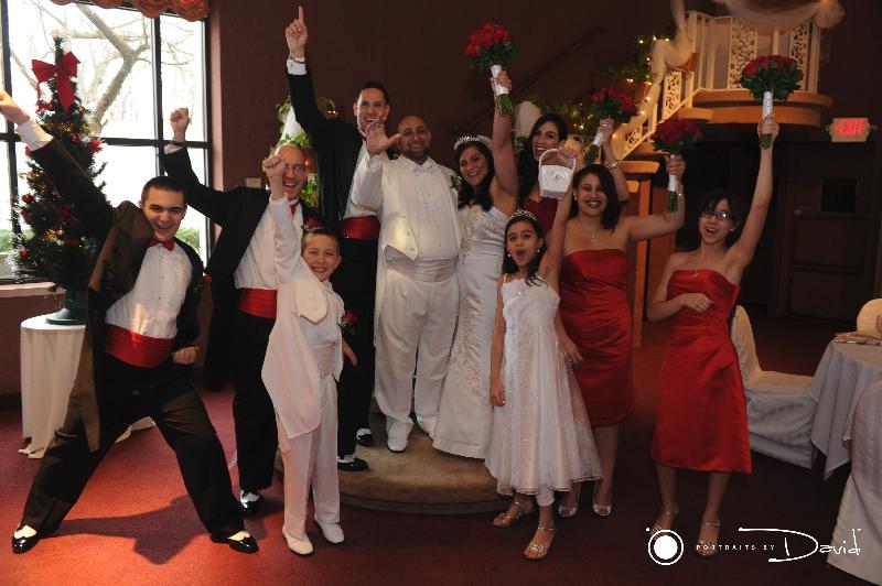 Chez Josef wedding photo