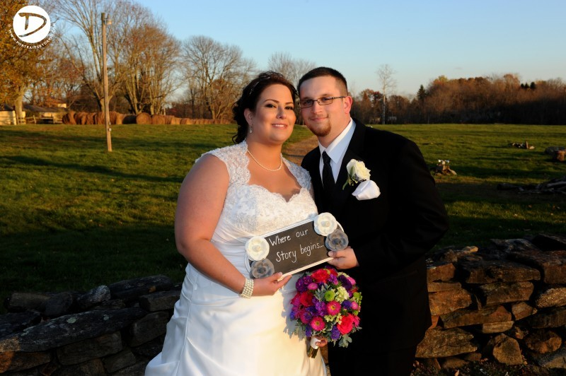 Salem Cross Inn wedding photo