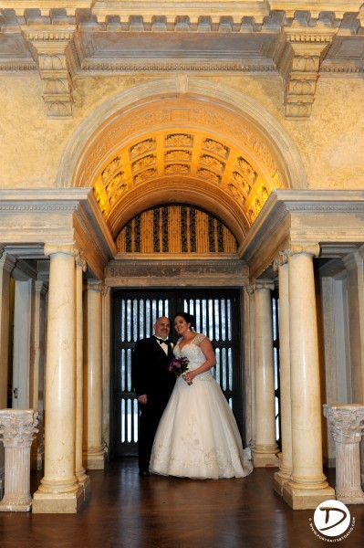 Wistariarhurst Museum wedding photo