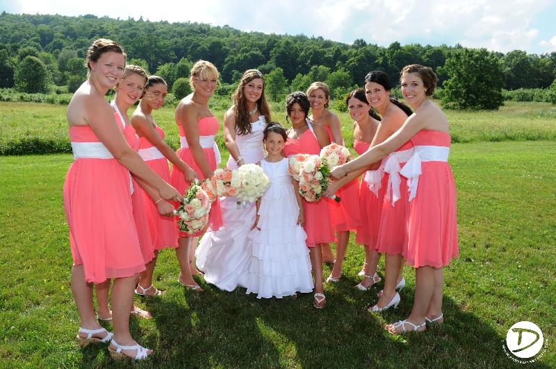 Quonquont farm wedding photo Whatley Ma