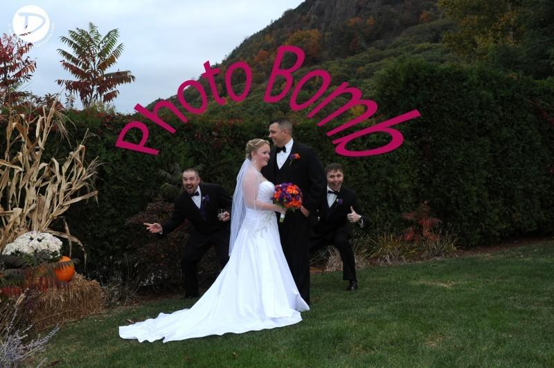Log Cabin Delaney House wedding photo