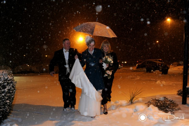 winter wedding photo special