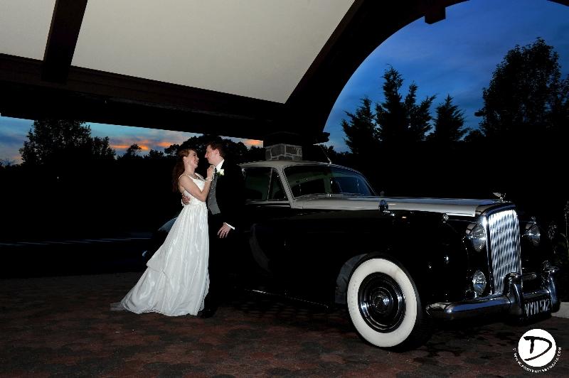 st clements castle wedding photo