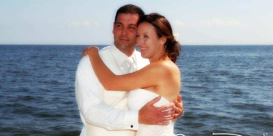 Ocean wedding photography country inn