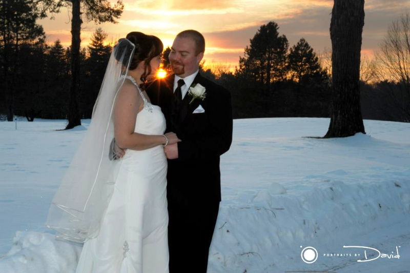 Oak Ridge Golf Club wedding photo Agawam Ma