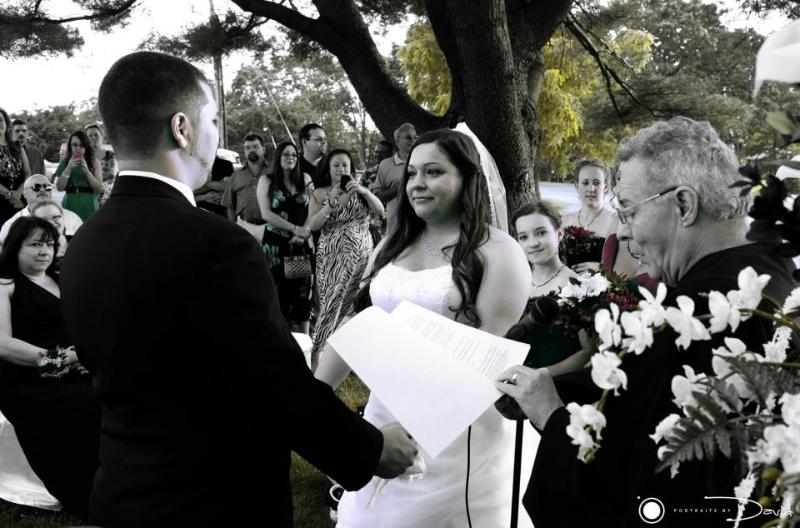 Ludlow Country Club wedding photo