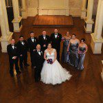 wistariahurst museum wedding photo