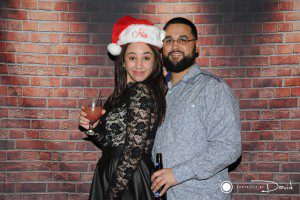 Holiday party photo booth rental Western Ma